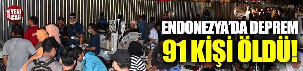 Endonezya'da bir deprem daha