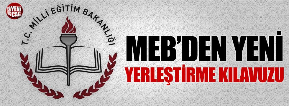 MEB'den yeni yerleştirme kılavuzu