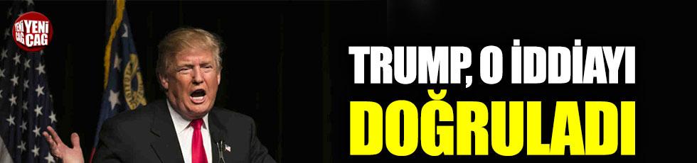 Trump, oğlunun Rus avukattan bilgi aldığını doğruladı