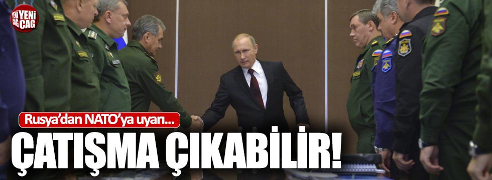 Rusya'dan NATO'ya uyarı
