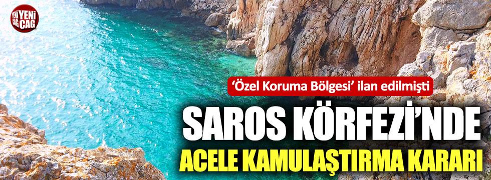 Saros Körfezi'nde acele kamulaştırma kararı