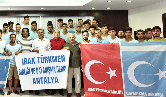Türkmen öğrencilere Muratpaşa kucak açtı