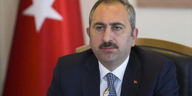 Adalet Bakanı Gül'den dava kotası açıklaması
