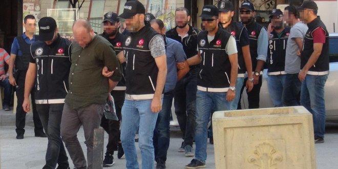 Eskişehir'de uyuşturucu şüphelisi 6 kişi tutuklandı