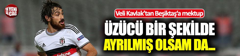 Veli Kavlak'tan, Beşiktaş'a: Üzücü bir şekilde ayrıldım