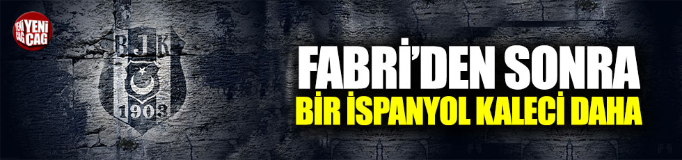 Beşiktaş'a, Fabri'den sonra bir İspanyol kaleci daha