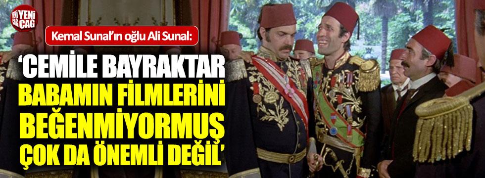 Ali Sunal'dan Cemile Bayraktar'a tepki!