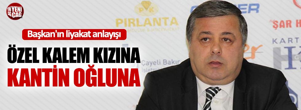 AKP'li belediye başkanı, kızını özel kalem olarak atadı