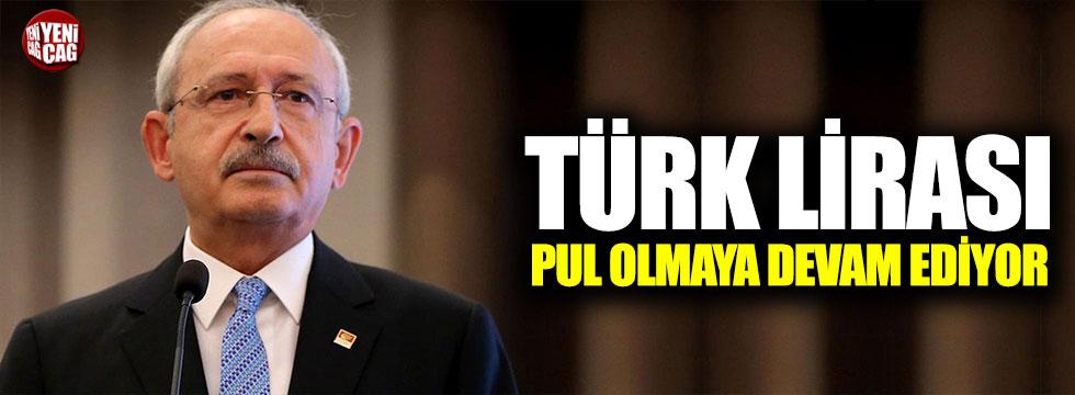"""""""Türk Lirası yabancı paralar karşısında pul olmaya devam ediyor"""""""