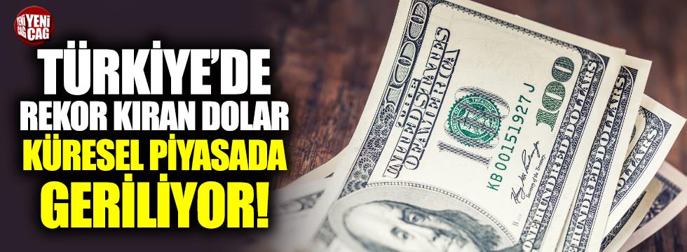 Dolar küresel piyasalarda geriledi