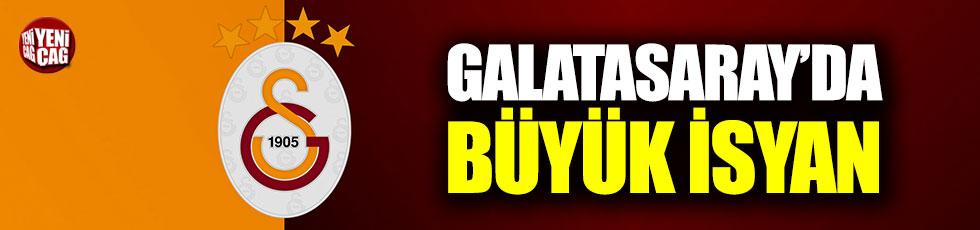 Galatasaray'da büyük isyan!