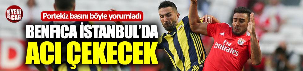 Portekiz basınından Benfica-Fenerbahçe maçı yorumu
