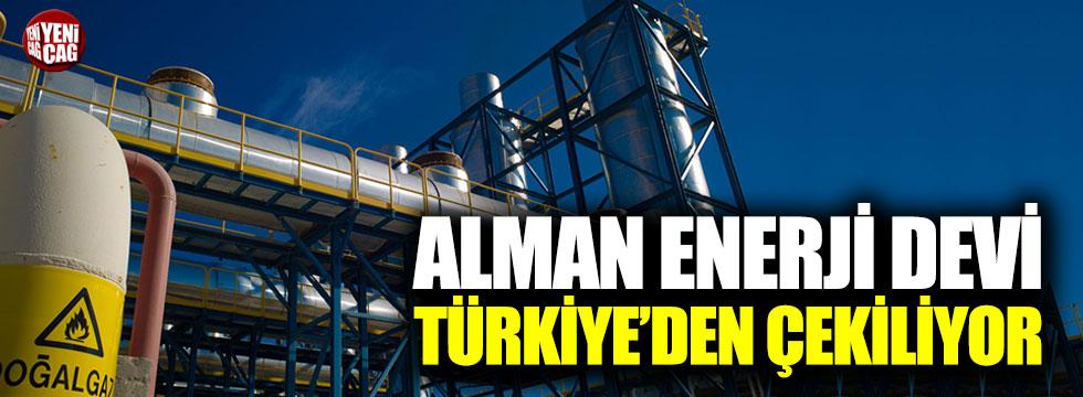 Alman enerji devi Türkiye'den çekiliyor