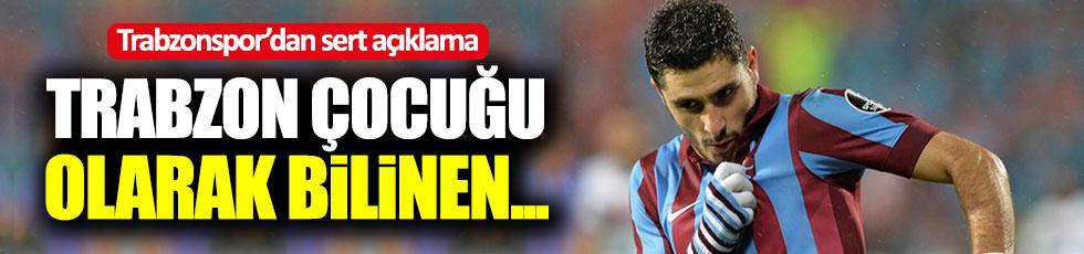 Trabzonspor'dan, Özer Hurmacı'ya sert sözler