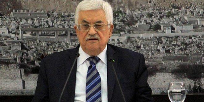 Filistin Devlet Başkanı Abbas'tan Gazze çağrısı