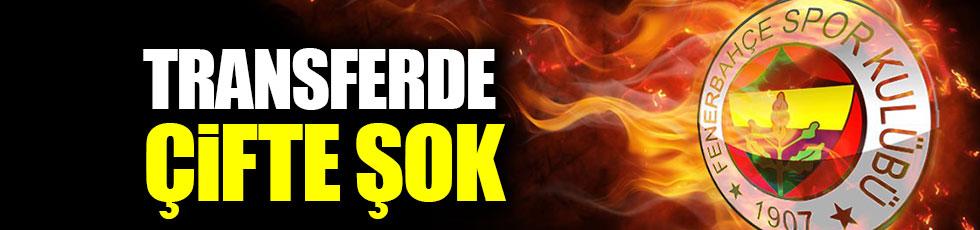Fenerbahçe'ye transferde çifte şok