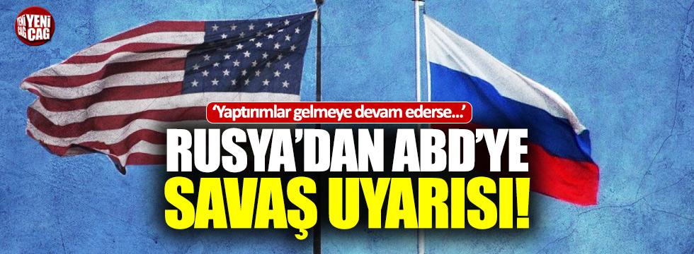 """Rusya'dan ABD'ye savaş uyarısı: """"Yaptırımlar devam ederse..."""""""