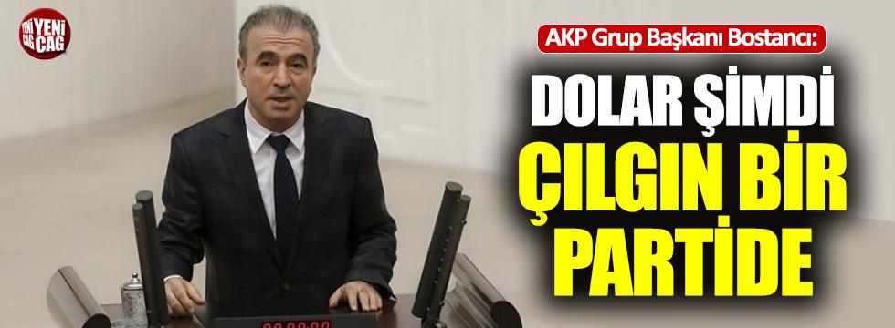 """AKP'li Bostancı: """"Dolar şimdi çılgın bir partide"""""""