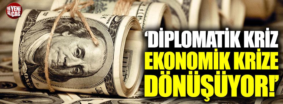"""Economist: """"Diplomatik kriz, ekonomik krize dönüşüyor"""""""