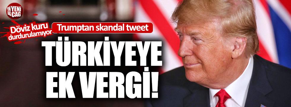 ABD'den Türkiye'ye yeni vergi