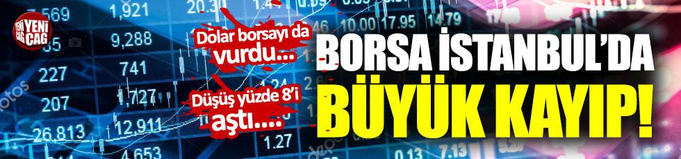 Borsa İstanbul'da ciddi kayıp