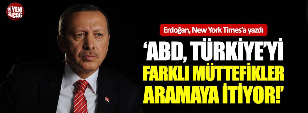 """Erdoğan: """"ABD Türkiye'yi farklı müttefikler arama yoluna itiyor"""""""