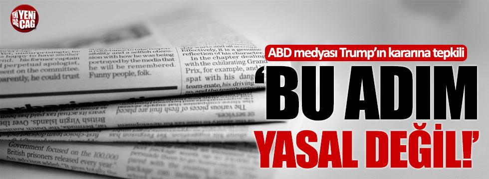 ABD medyası Trump'ın Türkiye kararına tepkili!