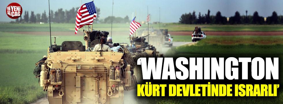 Washington, Kürt  devletinde ısrarlı!