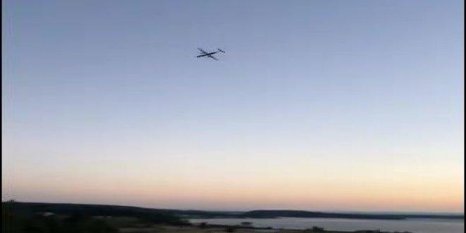 ABD'de kaçırılan uçak düştü