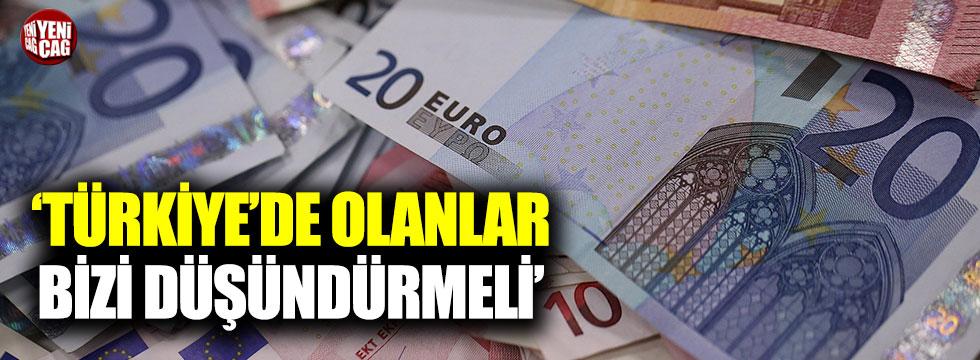 """""""Türkiye'de olanlar bizi düşündürmeli"""""""