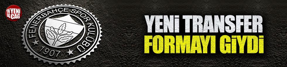 Fenerbahçe'nin yeni transferi formayı giydi