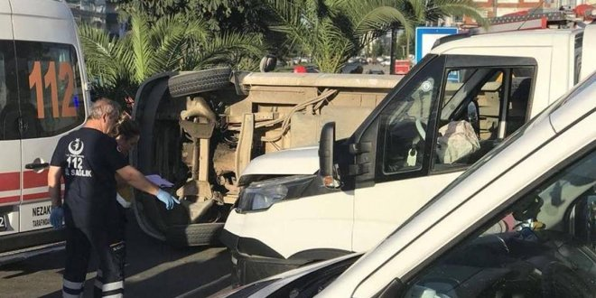 Ordu'da fındık işçilerini taşıyan araç kaza yaptı