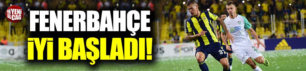 Fenerbahçe iyi başladı!