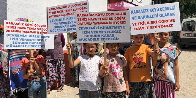 Köylüler enerji santraline karşı ayakta