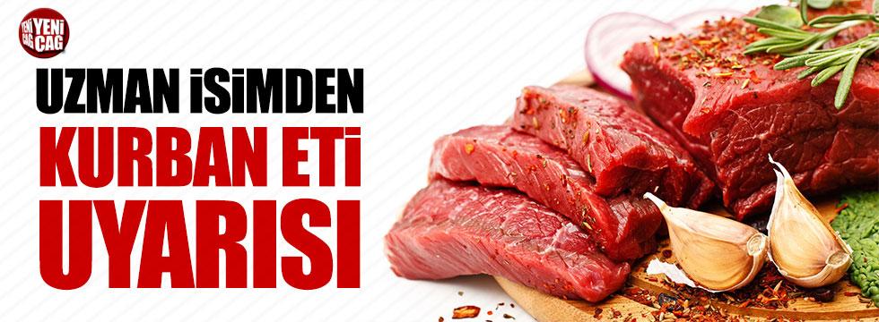 Prof. Sağlıker'den kurban etiyle ilgili uyarılar