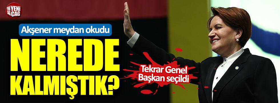 Meral Akşener tekrar genel başkan seçildi