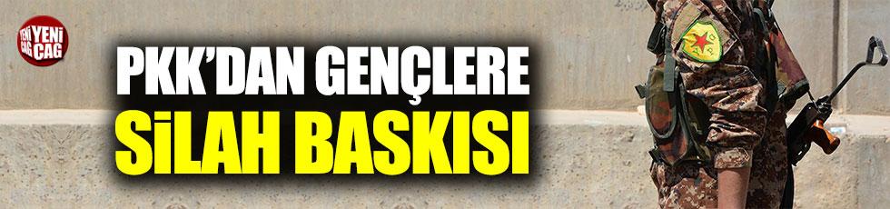 YPG/PKK Münbiçli gençleri zorla silah altına alıyor