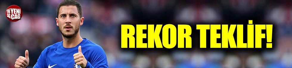 Eden Hazard'a rekor teklif!
