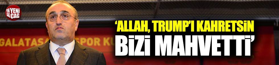 Abdurrahim Albayrak: 'Trump'ı' Allah kahretsin, bizi mahvetti