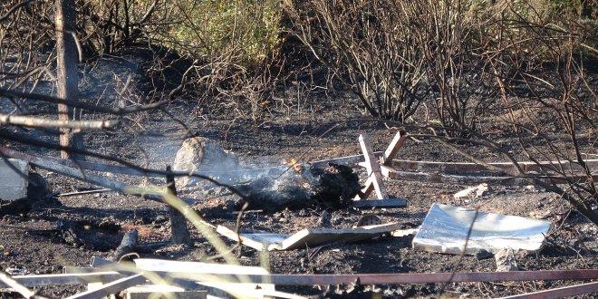 Arıcı ateş yaktı, orman yandı