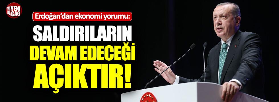 """Erdoğan: """"Saldırılar devam edecek"""""""