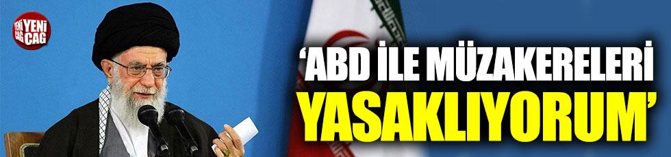 Hamaney: ABD ile müzakereleri yasaklıyorum