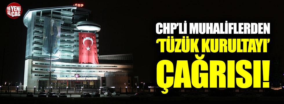 CHP'li muhaliflerden 'tüzük kurultayı' çağrısı