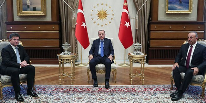 Erdoğan, BM Genel Kurul Başkanı'nı kabul etti