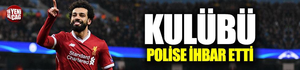 Liverpool, Salah'ı polise şikayet etti