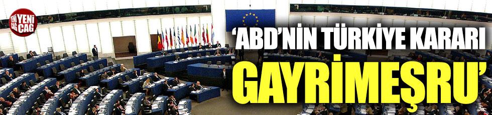 Avrupa Parlamentosu'ndan Türkiye açıklaması