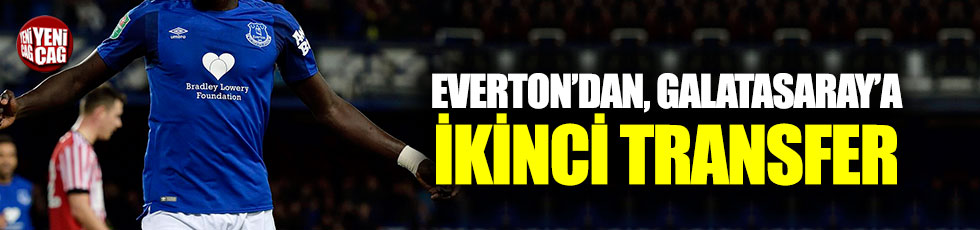 Galatasaray'a Everton'dan 2. transfer