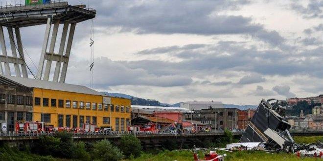Cenova'daki köprü enkazından 'yardım çığlıkları geliyor'