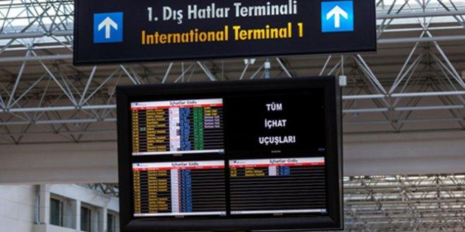 Temmuz ayında dış hat yolcu sayısı arttı