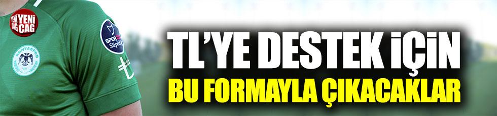 Atiker Konyaspor'dan TL simgeli forma